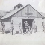 Blacksmith Shop at Johnnie - historic photographs