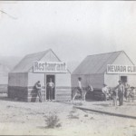 Nevada Club and Restaurant - Johnnie - historic photographs
