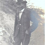 Tecopah - Chief of the Piutes - Sandy, Nevada Dec 1903 - historic photographs