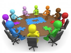 clip art of meeting